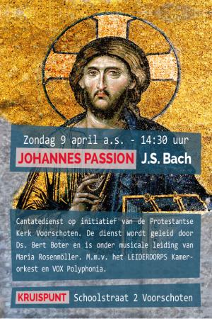 Poster Johannes Passion