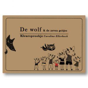 Kleursprookje de Wolf en de 7 geitjes
