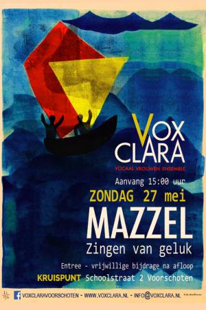 Poster A4 VOX - MAZZEL 27 mei 2018 DEFINITIEF
