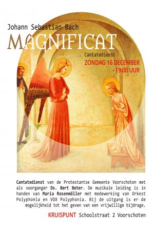 Poster A4 Magnificat 16 dec 2018